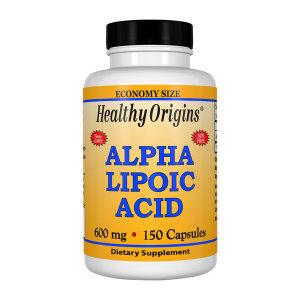 Healthy Origins 알파리포산 600 mg 150 캡슐 빠른직구