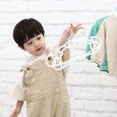 새싹옷걸이 일반형 4P 아기옷걸이 유아옷걸이