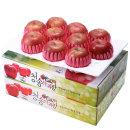 사과를 박스채 청송햇부사 5kg+5kg(9~10과)-팬캡