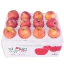 사과를 박스채 담아 햇부사10kg(20~28과)중대과 기스과