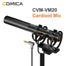 COMICA CVM-VM20 마이크 TRRS TRS 3.5mm 심근 콘덴서