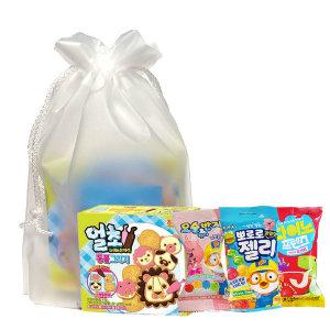 과자세트/종합선물/간식/다과/어린이집/얼초 동물