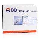 BD 인슐린 주사기 31G 8mm 0.5ml 328821 울트라파인II