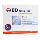BD 인슐린 주사기 31G 6mm 0.5ml 324901 울트라파인II