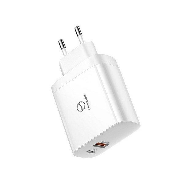 USB PD 2포트 고속 충전기 CH-6540 화이트 맥도도