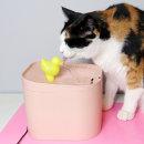 묘심 러버덕 오리 고양이 정수기 핑크 러버덕정수기