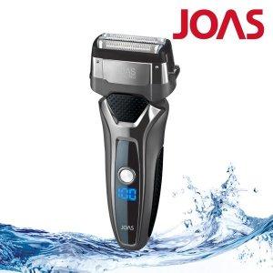 조아스 왕복식 3중날 전기 면도기 터보기능 생활방수 JS-5760