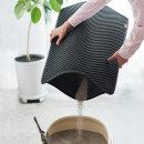 묘심 고양이화장실매트 모래매트 대형 블랙 75X56cm
