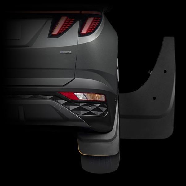투싼 NX4 타이어 흙방지 머드가드 한대분 4p