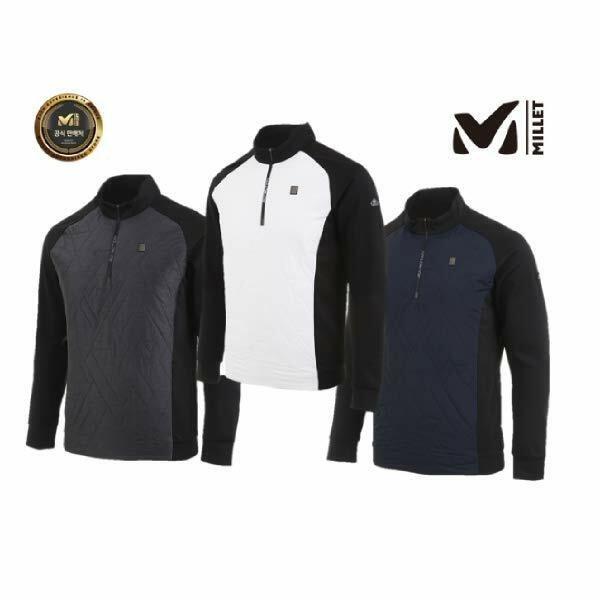 (현대백화점)밀레 정품 겨울 남성 패딩티셔츠 비레3 집업 티셔츠 MPNWT112