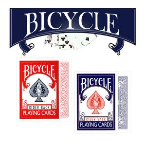 바이시클카드 빨강 BICYCLE/바이시클//포커/마술카드