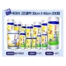 크린 롤백30x40x200매 위생 비닐팩 비닐봉지 업소용