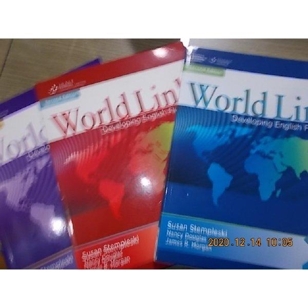 World Lidnk Developing English Fluency (1 2 Intro)    /(세권/2판/하단참조)