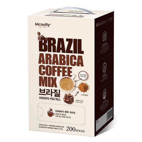 브라질 아라비카 커피믹스 200T 12gx200T 한국맥널티
