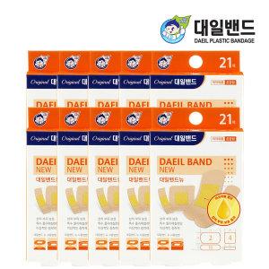 대일밴드 뉴 혼합 21매 x10