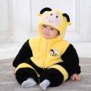 아동상하복 러블리 베이비 시크 발랄한 꿀벌 우주복