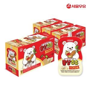 서울우유  홍삼츄츄 사과 배 100ml 40팩
