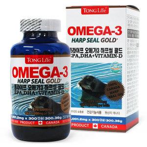 통라이프 오메가3 하프씰 골드 300캡슐