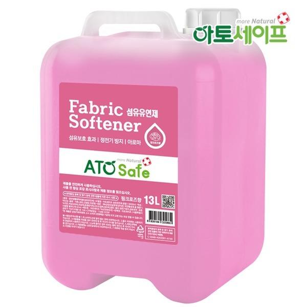 아토세이프 섬유유연제 (핑크로즈향 13L 1개)