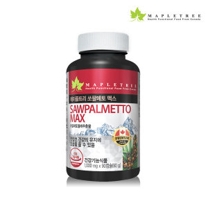 메이플트리 쏘팔메토 90캡슐_3개월분 전립선건강