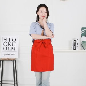 식당 주방 단체 행사 카페 바리스타 허리 앞치마 (대)