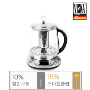 (15%할인) 비스카 1.5L 차밍 보온티포트 HNZ-TH850GK