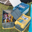 캠핑이 간편해지는 폴딩 캠핑박스 45L 아이스커버포함