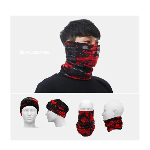 오토바이 방한 넥워머 기모 멀티 스카프 방한 마스크