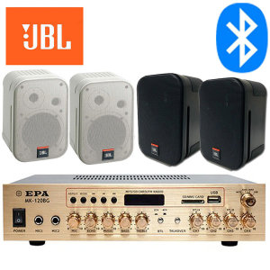 JBL PRO 4CH 매장용 카페 업소 스피커 블루투스 앰프