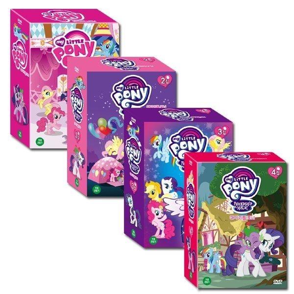 마이 리틀 포니 My Little Pony 1+2+3+4집 78종세트
