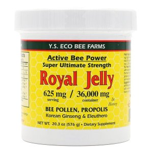 Y.S. Eco Bee Farms 울트라 메가 스트렝스 로얄 제리 로열 젤리 36000 mg 576 g