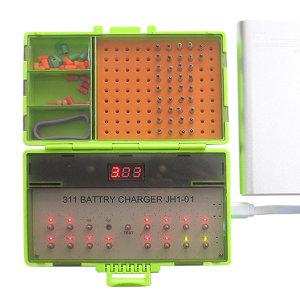 311전자케미 충전기 16개 동시충전가능