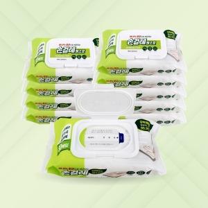 손걸레 청소포 80매 x 10개 / 일회용 방청소 물걸레