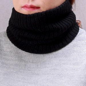 더설렌 겨울 방한 목토시 (블랙) 니트 넥워머
