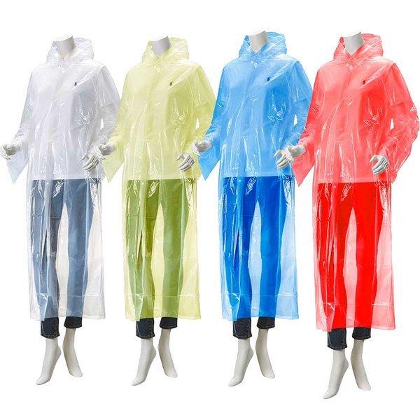 두꺼운 고급 일회용우비 일회용비옷 일회용우의 WKR-01