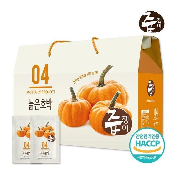 즙쟁이 늙은호박즙 1박스/30팩