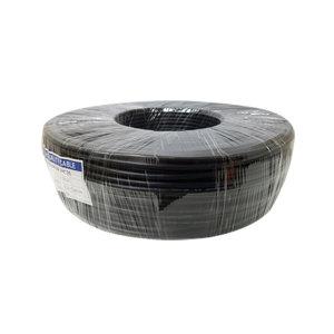 CCTV 영상+전원 케이블 QHD 보급형(200M) 블랙 국산