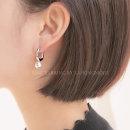보니 이어링 여자 여성 링 귀걸이 예쁜 악세사리