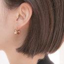 웨이브 이어링 여자 여성 링 귀걸이 예쁜 악세사리