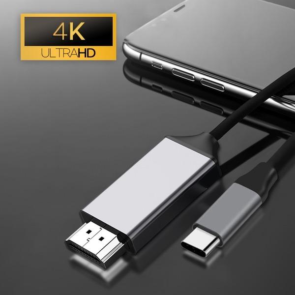 C타입 HDMI 미러링 케이블 2M UHD 4K 넷플릭스 지원