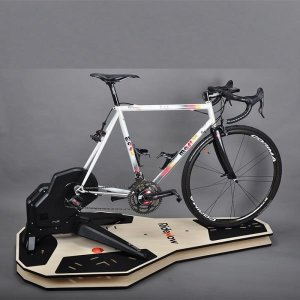 Ridenow 실내 자전거 로라 트레이닝 락킹 보드 2단 카