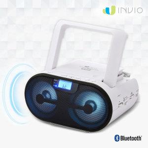 인비오  CD-800BT 블루투스 CD플레이어 LED 이퀄라이저
