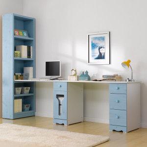 해피클래스 2인용책상(본체통+서랍통) 책상/컴퓨터책상