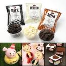 화이트초콜렛100g/초콜릿만들기재료/세트코렛빼빼로