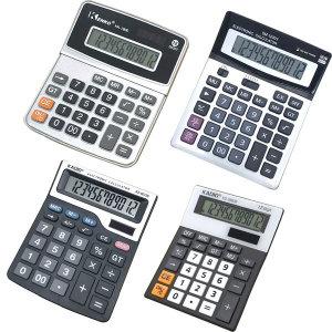 계산기 KK-1800(실버) 12자리 수 계산 계산기모음