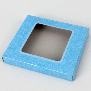종이케이스 손수건상자 선물 포장박스 (블루스퀘어)