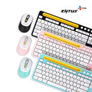 CJ ENM N ENTUS EWKM-01 무선 키보드 마우스 (블랙)