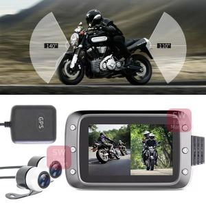 오토바이 2채널 블랙박스 GPS 풀HD촬영 방수카메라