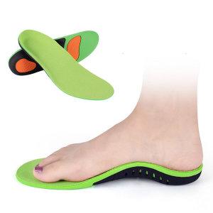 자세 교정 기능성 아치 깔창 족저근막 평발 군대 신발