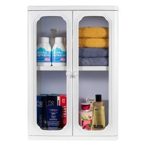 엑센트 욕실장 욕실수납장 넉넉한수납 D600 화이트색상